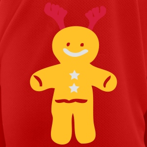 Reindeer ginger bread man Full Colour Mug - Men's Breathable T-Shirt