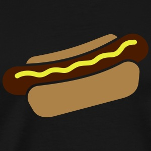 Hot Dog Langarmshirts - Männer Premium T-Shirt