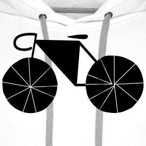 bicyclette Tee shirts - Sweat-shirt à capuche Premium pour hommes