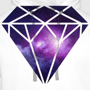 Diamant Diamond T-Shirts - Men's Premium Hoodie