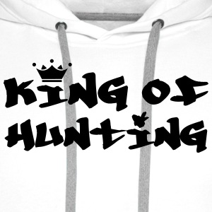 King of Hunting T-shirts - Mannen Premium hoodie