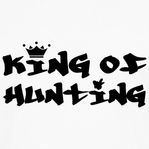 King of Hunting T-shirts - Långärmad premium-T-shirt herr