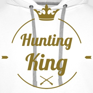 Hunting King T-shirts - Mannen Premium hoodie