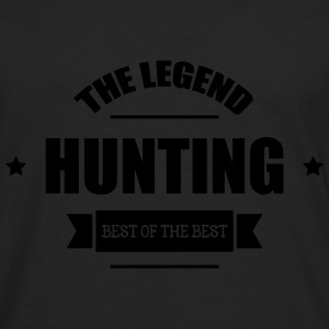 The Legend : Hunting T-Shirts - Männer Premium Langarmshirt