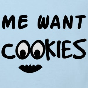 Me Want Cookies Shirts - Kinderen Bio-T-shirt