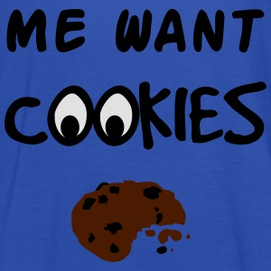 Me Want Cookies T-Shirts - Women's Tank Top by Bella