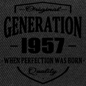 Generation 1957 Tee shirts - Casquette snapback