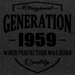 Generation 1959 Tee shirts - Casquette snapback