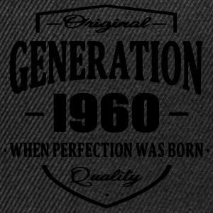 Generation 1960 Tee shirts - Casquette snapback