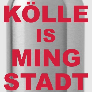 Kölle is ming Stadt T-Shirts - Trinkflasche