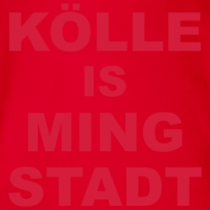 Kölle is ming Stadt T-Shirts - Baby Bio-Kurzarm-Body