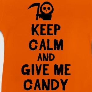 Orange Keep cam and give me candy Shirts - Baby T-Shirt