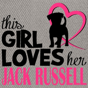 This girl loves her Jack Russell - Dog Lover Borse & zaini - Snapback Cap