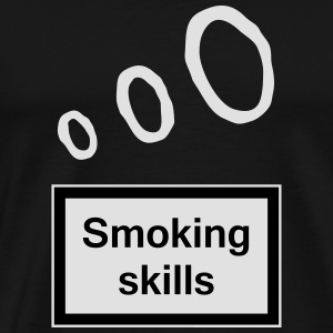 Smoking skills Aprons - Men's Premium T-Shirt