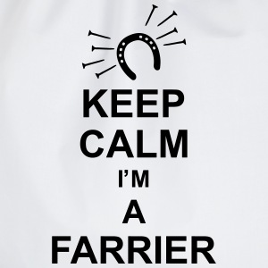 keep_calm_i'm_a_farrier_g1 Camisetas - Mochila saco