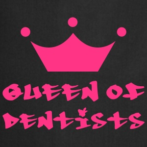 Queen of Dentists T-shirts - Förkläde