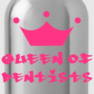Queen of Dentists T-Shirts - Trinkflasche
