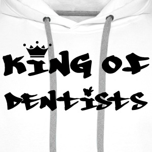 King of Dentists T-shirts - Premiumluvtröja herr