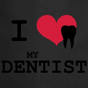 I Love my Dentist T-shirts - Forklæde
