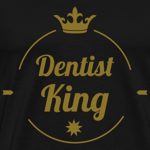 Dentist King  Aprons - Men's Premium T-Shirt