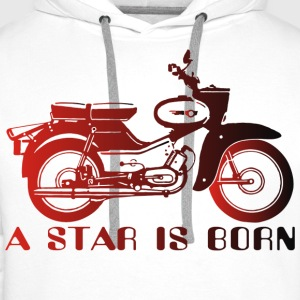 Simson Star is Born - Männer Premium Hoodie