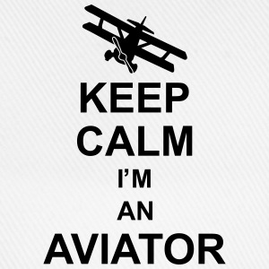 keep_calm_im_an_aviator_g1 Skjorter - Baseballcap