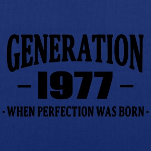 Generation 1977 Tee shirts - Tote Bag