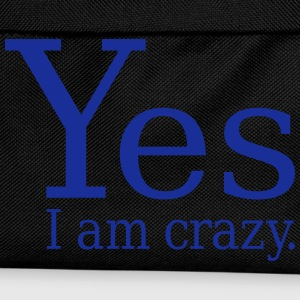Yes I Am Crazy Gensere - Ryggsekk for barn