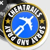 chemtrails - spray and pray Buttons & Anstecker - Buttons groß 56 mm