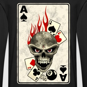 poker card Tee shirts - T-shirt manches longues Premium Homme