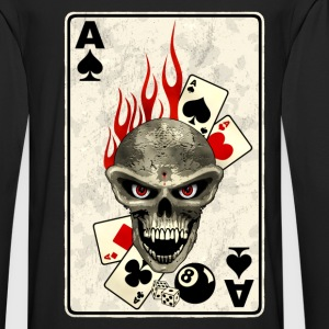 poker card Sweat-shirts - T-shirt manches longues Premium Homme