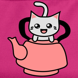 Kawaii Kitteh in Teapot Tops - Kinder Rucksack
