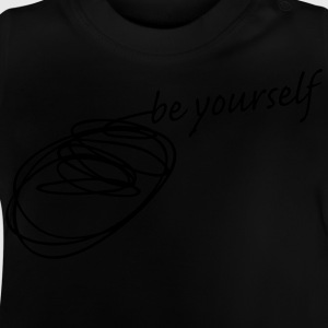 be yourself Felpe - Maglietta per neonato