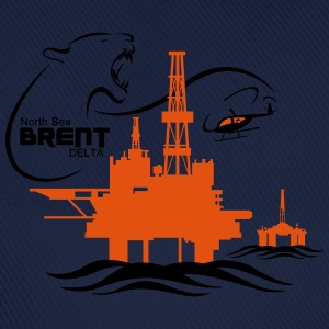 Brent Delta Oil Rig Platform North Sea Aberdeen - Baseball Cap