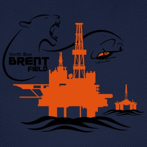 Brent Field Oil Rig Platform North Sea Aberdeen - Baseball Cap