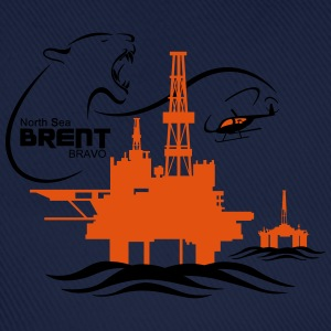 Brent Alpha Oil Rig Platform North Sea Aberdeen - Baseball Cap