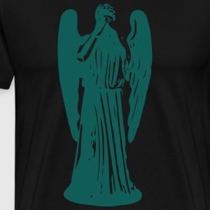 Don't Blink, Weeping Angel Forklæder - Herre premium T-shirt