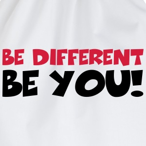 Be different - Be YOU! T-Shirts - Turnbeutel