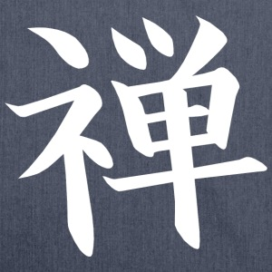Zen Kanji T-Shirts - Shoulder Bag made from recycled material