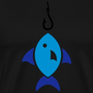 Fish  Aprons - Men's Premium T-Shirt