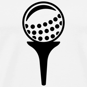 Golf ball Mugs & Drinkware - Men's Premium T-Shirt
