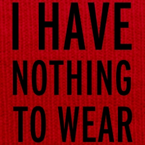 Nothing To Wear T-shirts - Wintermuts