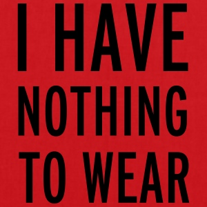 Nothing To Wear T-shirts - Tas van stof