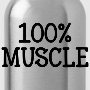 100% Muscle Tee shirts - Gourde