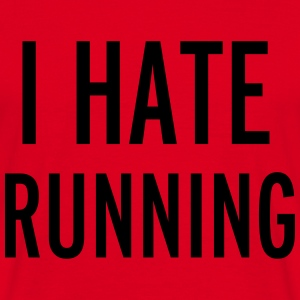 Hate Running Gensere - T-skjorte for menn