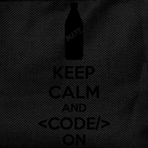Keep Calm And Code On Sweat-shirts - Sac à dos Enfant