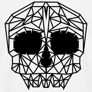 A skull grid Hoodies & Sweatshirts - Men's Premium T-Shirt