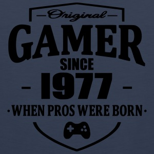 Gamer Since 1977 T-Shirts - Männer Premium Tank Top