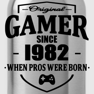 Gamer Since 1982 Magliette - Borraccia