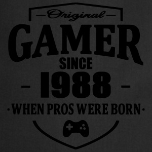 Gamer Since 1988 T-shirts - Forklæde